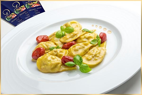 """Teigwaren an würziger «Dressing your Food»- –Sauce"""" sind wie … eine Offenbarung!"""